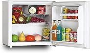 Impex IRF- 46 Liter Single Door Direct Cool refrigerator table top chiller (Silver)   ثلاجة امبكس 46 لتر باب و