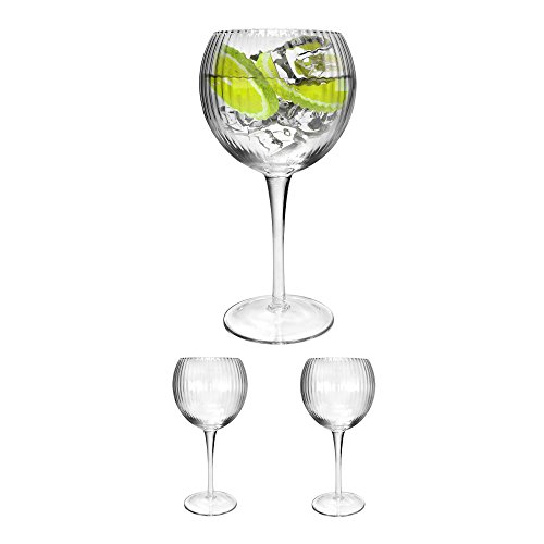 Sets Trinken Gläser Retro (Ginsanity 2 x Retro Hayworth Gin / Cocktailglas - 580ml)