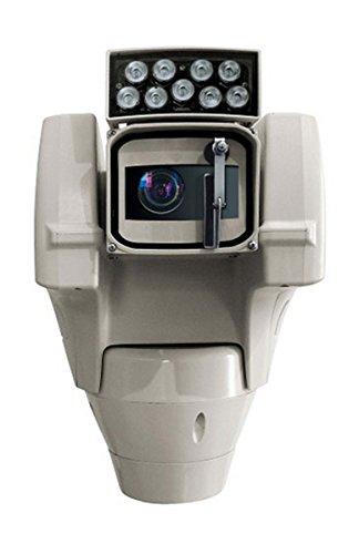 UC1PVZA000A, ULISSE Compact 230Vac, Tag/Nacht Kamera 36x Pal, Wischer, Weiß-Licht LED Scheinwerfer 30°, I/O Alarm Karte Ulisse Compact