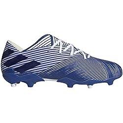 Adidas Nemeziz 19.2 FG, Zapatillas Deportivas Fútbol Hombre, Azul (FTWR White/Team Royal Blue/Team Royal Blue)