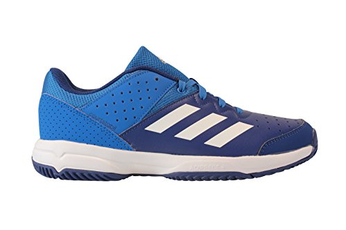best authentic 2b3aa caebc adidas Unisex-Kinder Court Stabil Jr Handballschuhe, Mehrfarbig  (Azul Ftwbla Tinmis), 38 EU