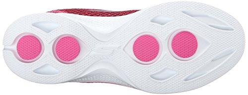 Skechers Damen Gowalk 4-Exceed Sneakers Pink (ras)