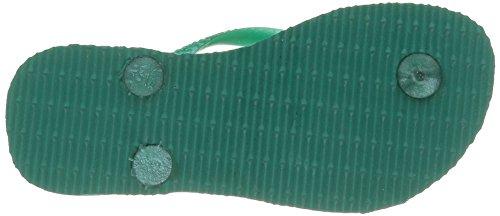 Havaianas Slim Crystal Swarovski, Sandales Fille Turquoise (Lake Green 1407)