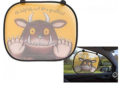 Hoolaroo Auto Sonnenblende Kleinkind Gruffalo 2er Pack Fenster Blenden