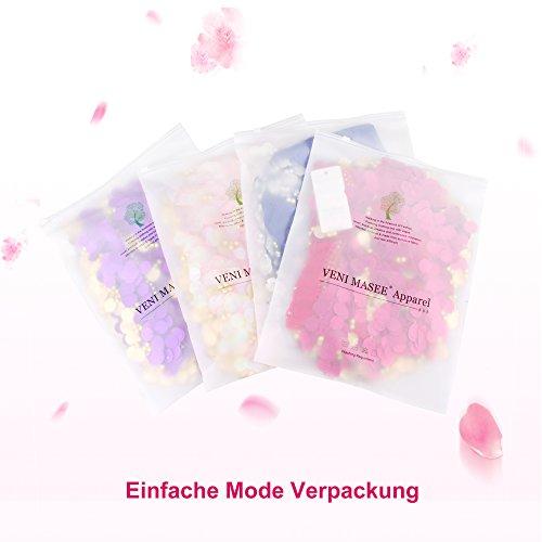 VENI MASEE Gaze Bauchtanz Kostüme Set - Sechsteiliges Set Pink