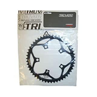 Truvativ Chainring Road 50T 5 Bolt 110 mm BCD Double Steel Matte Black (50-36), 11.6215.036.000 (B0063HM1WY) | Amazon Products