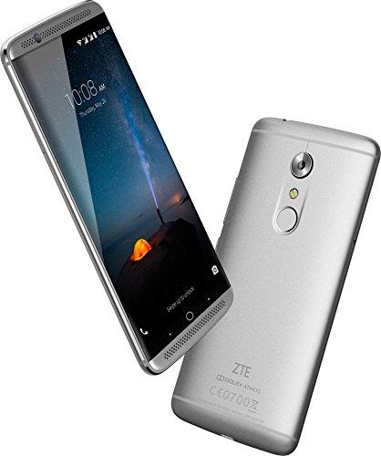 """ZTE Axon 7 - Smartphone libre de 5,5"""" (4G, Qualcomm Snapdragon 820 , 4 GB RAM, almacenamiento interno de 64 GB, Bluetooth, WiFi, Android), color plateado"""
