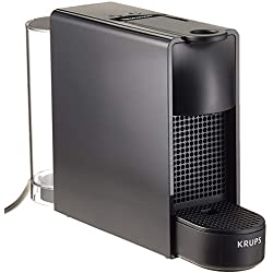 Nespresso Krups Essenza Mini XN1108 - Cafetera monodosis de cápsulas Nespresso, compacta, 19 bares, apagado automático, color negro