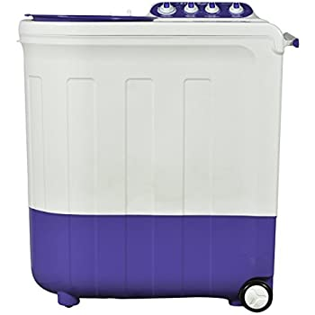 Whirlpool 8.5 kg Semi-Automatic Top Loading Washing Machine (Ace Turbodry 8.5, Coral Purple)