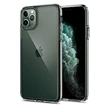 Spigen Ultra Hybrid, Designed for iPhone 11 PRO Case, Clear Hard PC Back TPU Bumper with Shockproof Air Cushion Case for iPhone 11 PRO - Crystal Clear
