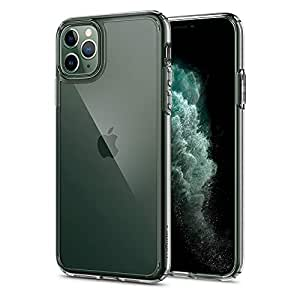 Spigen Ultra Hybrid, Back Cover Case Designed for iPhone 11 Pro (2019) - Crystal Clear
