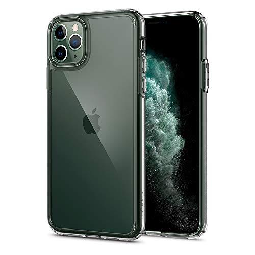 Spigen Coque iPhone 11 Pro [Ultra Hybrid] Bumper en TPU Souple, Dos en PC Rigide et Transparent, Protection - [Air Cushion] Coque Compatible avec iPhone Pro (2019)