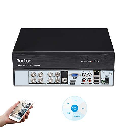 Tonton CCTV 8CH 1080P HD 5 in 1 ...