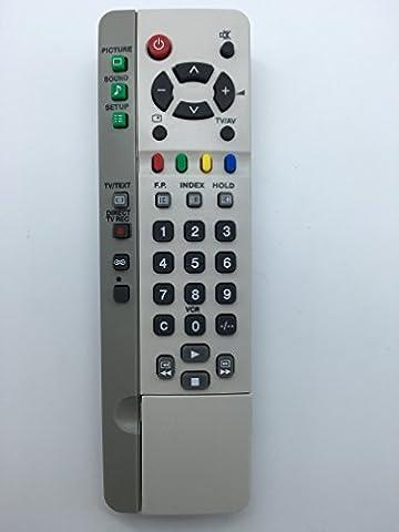 Vinabty Ersatz Fernbedienung EUR511200 EUR 511200 fit für Panasonic EUR511200 EUR511210 EUR511210CR EUR511211 EUR511212A EUR511212BR EUR511220 EUR511224 EUR511230 EUR511266 TX21MD4 TX21MK1M TX24DX1