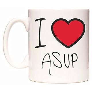 I Love ASUP Mug by WeDoMugs®