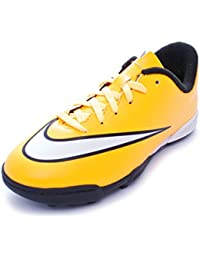 Nike JR Mercurial Vortex II TF bambino, pelle liscia, sneaker bassa, 36 EU