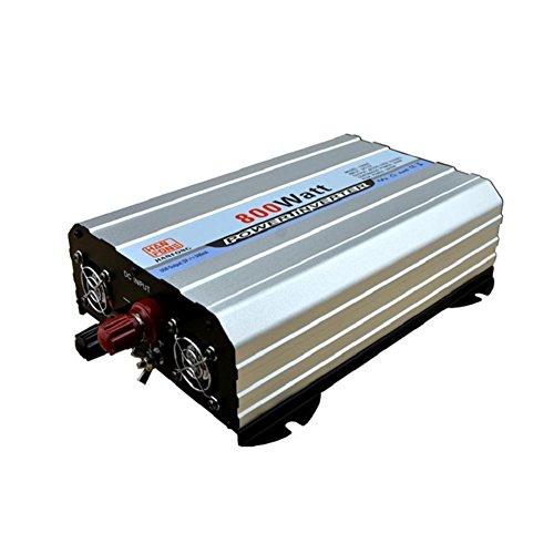 Preisvergleich Produktbild Wechselrichter / Wechselrichter für das Auto,  mit Batterie-Zigarettenanzünder-Adapter und 2 USB-Lade-Wechselrichter DC 12 V auf AC 220 V 800 W
