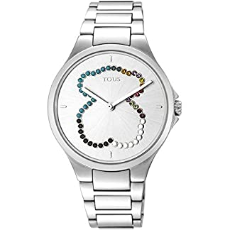 Tous Reloj Motion Straight SS ESF Oso Cristales