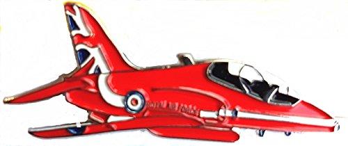Metal Enamel Pin Badge Brooch RAF Red Arrow Aeroplane