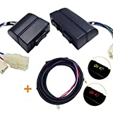 12V/24V 5-Pin Elevalunas eléctrico AUTO coche universal interruptor para 2ventana