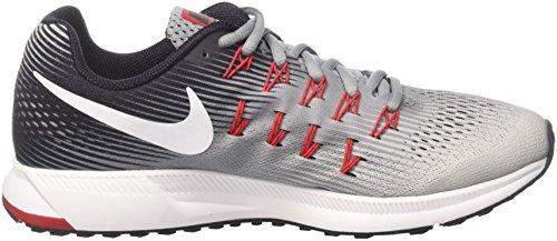Nike Uomo Air Zoom Pegasus 33 Scarpe Da Corsa Multicolore (stealth / Platino Puro / Nero / Bianco)