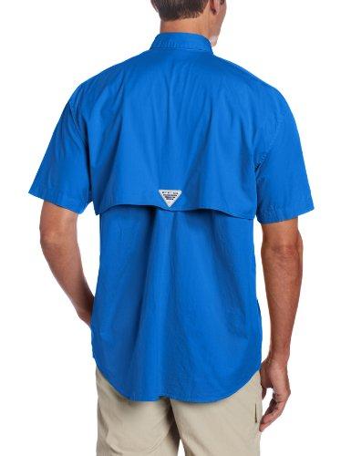 Columbia Herren Freizeit-Hemd Lebhaftes Blau
