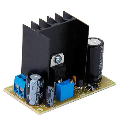Gazechimp LM317 AC/DC Input Converter Power Supply Modul Spannungsregler Stromversorgung Modul Einstellbar Linearregler -