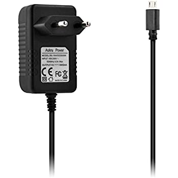 Aukru Micro USB 5v 3000mA Chargeur Adaptateur Alimentation Pour Raspberry Pi 3, Pi 2 modele b et Modele B+ (B Plus),Banana pi