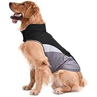 Chaleco para perros con forro polar, de invierno y otoño, cálido, reflectante, para clima frío, resistente al viento, de la marca Sild