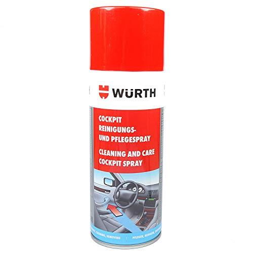 Würth Cockpitspray Reinigungsspray Innenraumreiniger Kunststoffreiniger 08902221