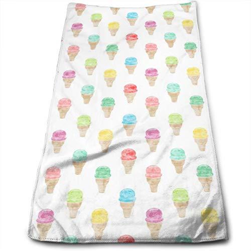 Mardi Gras Flag Soft Super Absorbent Towel Quick-Drying Bath Beach Camping Sports Towel 27.5 X 17.5 Inch