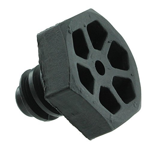 AEG Horno Cocina Encimera Plástico Tornillo Pierna pies (Negro)