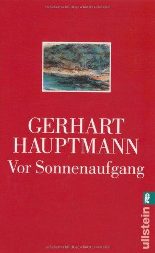 Buchseite und Rezensionen zu 'Vor Sonnenaufgang: Soziales Drama' von Gerhart Hauptmann