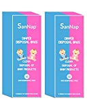 SanNap Baby Diaper Disposal Bags (Pack of 100)