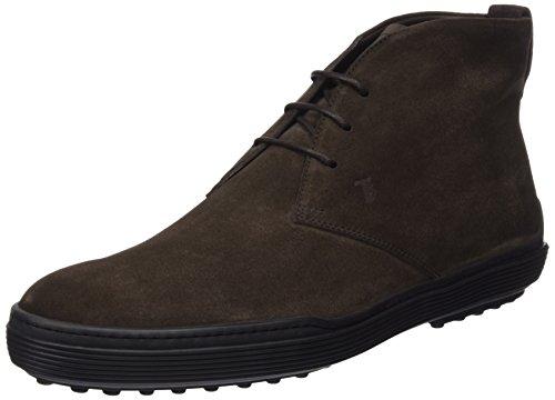 TODS - Xxm0Xf0N460Re0S800, Zapatos De Cordones Brogue da uomo, marrone (testa moro), 44