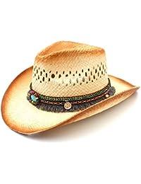 Amazon.es  20 - 50 EUR - Sombreros de cowboy   Sombreros y gorras  Ropa 20bb38e405b