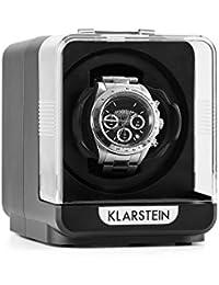 Klarstein Eichendorff Remontoir automatique pour 1 montre (4 modes de mouvement, silencieux, peu encombrant) - noir