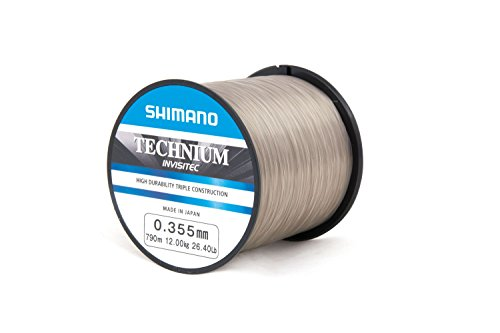 Shimano Technium Invisitec 0,40mm 15,00kg 594m Schnur Karpfenschnur Monofile Schnur Monoschnur Mono