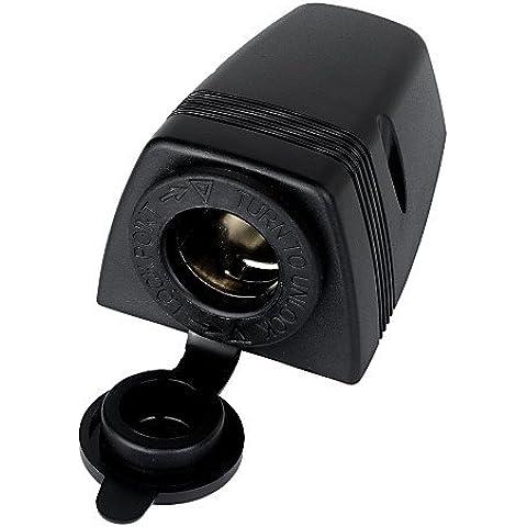 Jtron Water Resistant Cigarette Lighter Socket for Automotive - Nero
