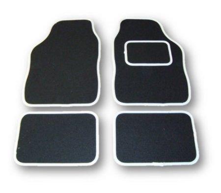 hyundai-sante-fe-06-12-universal-4-piece-carpet-car-floor-mats-set-black-white-trim
