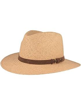 ORIGINAL Sombrero Panamá | Sombrero de paja tejido a mano en Ecuador – Correa de cuero y aplicaciones de metal...