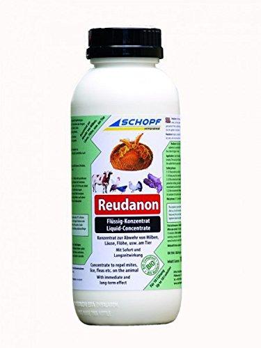 Schopf 301391 Reudanon Flüssig-Konzentrat gegen Parasiten am Tier, Bio-Konform, 1000 ml