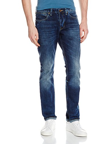 Cross Herren Jeans Dylan Blau (Dark Blue 052)