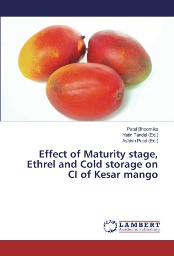 Effect of Maturity stage, Ethrel and Cold storage on CI of Kesar mango