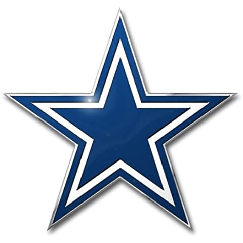 NFL Dallas Cowboys Die Cut Color Automobile Emblem
