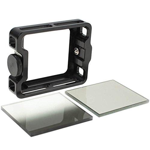 LEE Filters Bug3+ Action Kit für GoPro HERO3+ und HERO4 - inkl. Grauverlaufsfilter, Polfilter, Filterhalter etc.