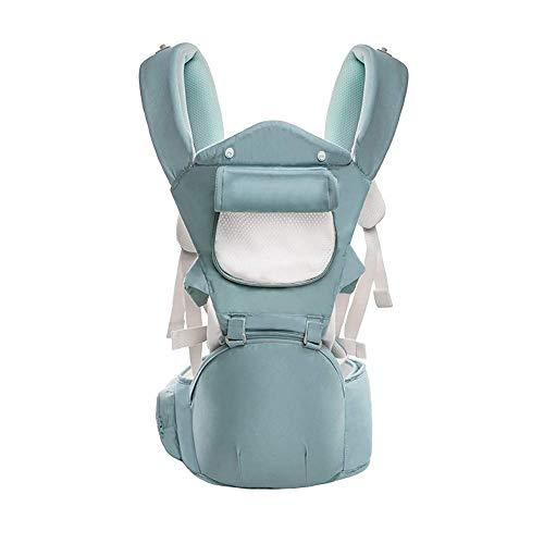TONGSH Marsupio Newborn to Toddler 4 in 1 Soft Sling all Carry with Hip Seat 360 Positions Sedili ergonomici premiati for Neonati