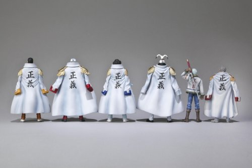 One Piece: Marine Never in the Name of Justice Trading Figure Box of 8 Pieces (japan import) 2