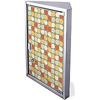 Edelstahl Medizinschrank Eckschrank abschließbar 30x17,5x45cm Badschrank Hausapotheke Arzneischrank Bad Abstrakte... preisvergleich bei billige-tabletten.eu