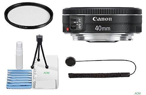 Canon EF 40mm f/2.8STM Objektiv für Canon EOS 7D, 60D, EOS Rebel SL1, T1i, T2i, T3, T3i, T4i, T5i, XS, Xsi, XT und XTI Digital SLR Kameras (International Version) ohne Garantie Eos Rebel T1i Kit
